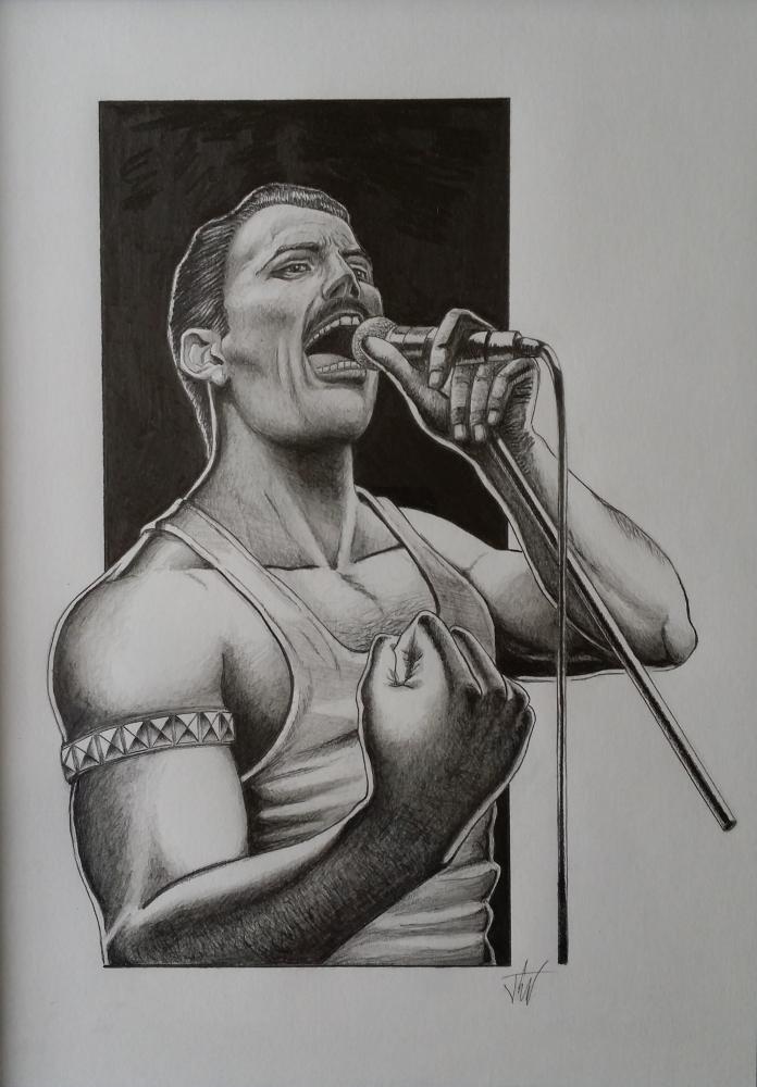 Freddie Mercury par jeffcw